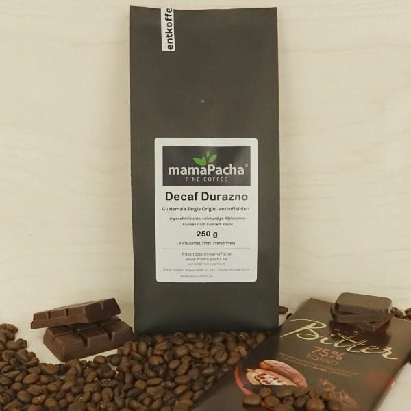Decaf Durazno 250 g für Filter