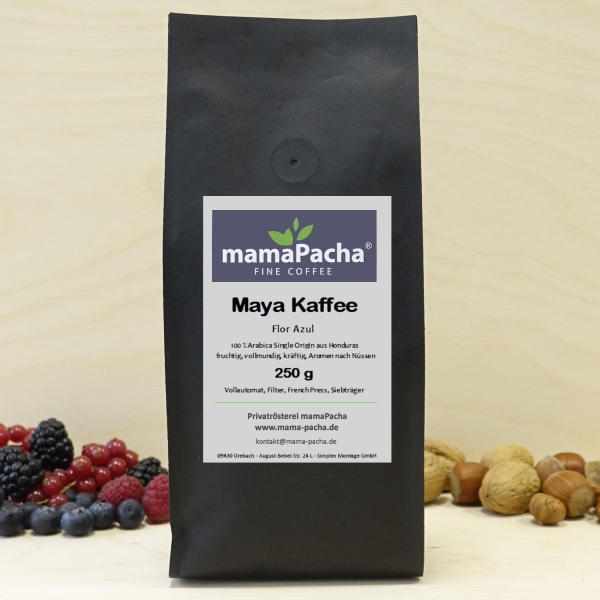 Maya Kaffee 125 g Ganze Bohnen