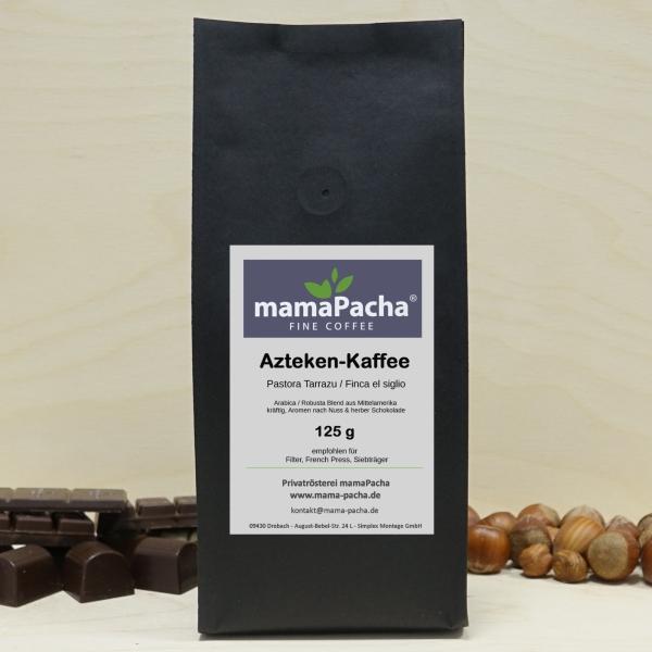 Azteken Kaffee 125 g für Siebträger