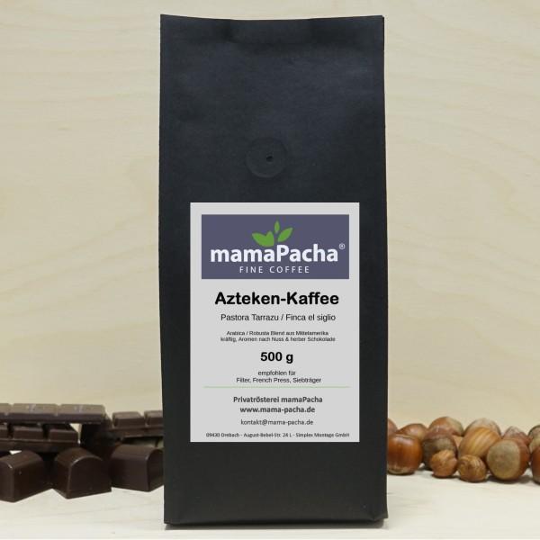 Azteken Kaffee 500 g für Siebträger