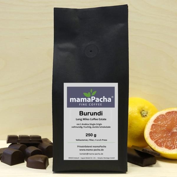 Burundi 250 g Ganze Bohnen